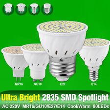 AC 220V LED Bulb GU10 E27 MR16 E27 Base Lamp 8W High Bright 2835 Spotlight A937