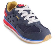 Crocs Junior Retro Sneaker GS Shoe - Navy/Red
