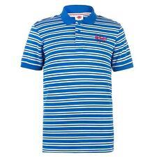 Lee Cooper Mens Pique Yarn Dye Polo Shirt Classic Fit Tee Top Short Sleeve M-2XL