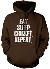 Eat Sleep Cricket Repeat Sudadera Unisex Músico Regalo Varios Colores aHoodie