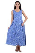 Sleeveless Crease-Free Printed Dress | Cotton Lane