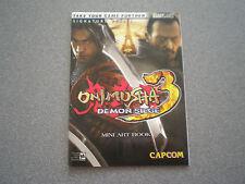 Onimusha 3: Demon Siege Mini Paper Art book               NEW     Capcom