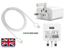 Vodafone smart E8 V8 N8-rápido de Reino Unido Cargador De Pared/Micro USB Cable de transferencia de datos de plomo