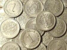 DEUTSCHES REICH GERMANY Kaiserreich 1 pfennig alu KM#24 1917 choose your coin