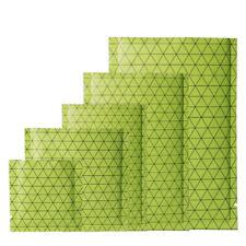 Tipo de Mylar Calor Sellador de bolsas de parte superior abierta con patrón negro verde bolsa plana