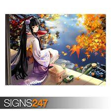 GEISHA ANIME (3178) Anime Poster -  Picture Poster Print Art A0 A1 A2 A3 A4