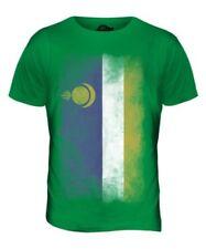 Burjatien Verblaßte Flagge Herren T-Shirt Oberteil