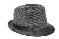 Bailey of Hollywood Men's Jaron 25231 Corduroy Fedora Hat Cap