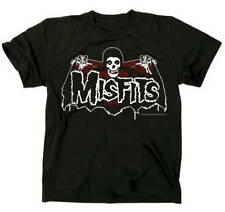 The Misfits Batfiend Red Horror Punk Rock Metal Adult Mens T Tee Shirt MIS-1001