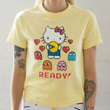 BAIT x Sanrio Hello Kitty x Pac-Man Women Ready Tee yellow / banana