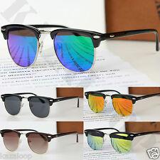 Nuevo Calidad Clásico Clubmaster gafas de sol unisex UV400 Retro Vintage