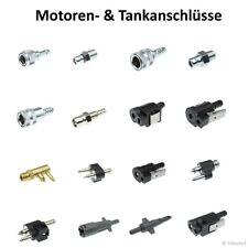 Motoranschluss Außenborder, Benzinanschluss Benzinstecker, Tank Stutzen Buchse