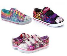 Skechers Twinkle Toes POP-TASTIC/PROLIFIC/CHILLIN Light-up Sneakers Girls Sz 2-3