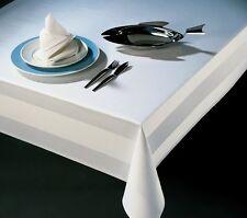 Tischdecke Damast Servietten Tischwäsche Atlaskante 100% Baumwolle Tischdamast