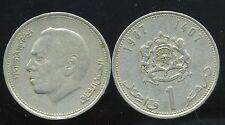 MAROC 1 DIRHAM 1987
