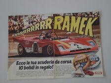 advertising Pubblicità 1973 RAMEK KRAFT