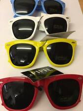 infantil de color Gafas sol con UV400 Protección Solar Blanco Rojo Azul Amarillo