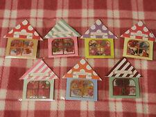 KAWAII STICKER HOUSE - 7 Cute Designs! - Brand New!