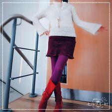 FB Wool Mohair Jumper smock dress HighNeck Flare sleeve ALine Check mini skirt M