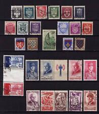 es - FRANCE Partie de Collection, 1942/43 Oblitérés