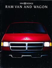 1994 Dodge Ram Van and Wagon Cargo Sales Brochure