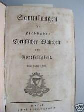 Sammlungen Christlicher Wahrheit Gottseligkeit 1860