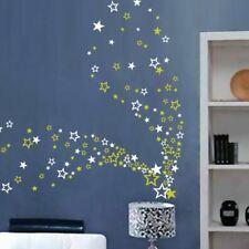 Up to 104 Stars Vinyl Stickers Various Bedroom DIY Wall Window Kids Decals Décor