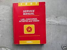 1997 Chrysler LHS CONCORDE VISION Dodge INTREPID Service Shop Repair Manual OEM