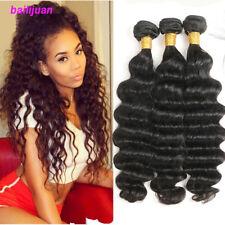 150G/3Bundles Brazilian Loose Deep Wave Human Hair Weave Human Hair Extensions