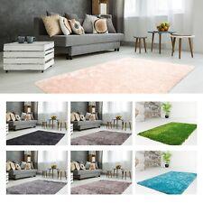 Hochflor Teppich Hochwertiger UNI Langflor SHAGGY Moderne Teppiche Angebot