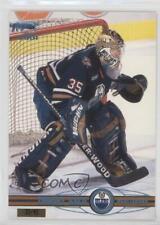 2000-01 Pacific Ice Blue #172 Tommy Salo Edmonton Oilers Auto Hockey Card