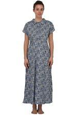 Cotton Lane Cotton Crepe Dress D703. Sizes UK 8 to 38