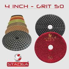 """10 Pcs 4"""" Premium WET Diamond Polishing Pads :Pick Grit"""