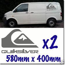 Calcomanías Decorativas Quiksilver Surf Camper día van T4 T5 VW Quick Silver QS-04