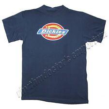 Dickies Mens 4101 DKS460 DN Classic Corporate Logo T-Shirt Dark Navy New
