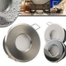 1-50x MERANO 230V Dusche Bad Feuchtraum Einbaustrahler Nassraum Innen Außen Alu