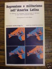 AA.VV.: REPRESSIONE E MILITARISMO NELL'AMERICA LATINA