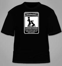 Warning Choking Hazard T-Shirt. Funny Sex Blowjob TShirt Tees Cool Offensive