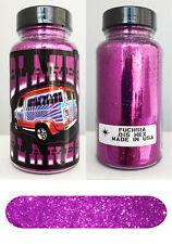 Blakes Metal Flake .015 Fuchsia Pink Hot Rod Custom Paint job automotive 2oz jar