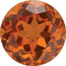 Natural Fine Rich Mandarin Orange Spessartite Garnet - Round - Brazil - Top Grad