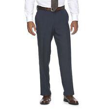 Croft Barrow Mens Dress Pants True Comfort Classic Texture Flat size 36 38 42NEW