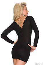 Women's Wear élégant Pull Mini Robe Taille Uk 8-10 couleurs disponibles