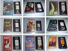 CINE ACCION Y AVENTURAS AÑOS 80-90 - VHS ESPAÑOL STALLONE SCHWARZNEGGER RUSSELL