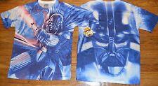 Star Wars Darth Vader Light Saber 2 Sided Graphic T-Shirt Official Licensed Tee