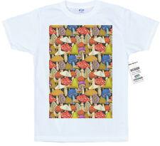 Mushroom Pattern T-shirt Artwork