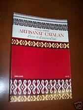 """ARTISANAT CATALAN"" F. POIROT (1973) ARTISAN / CATALOGNE"
