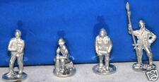 SHQ GD31 1/76 Diecast WWII Early German Heavy Artillery Crew (4 Figures)
