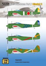 Wolfpack 1:48 Ki43 Hayabusa Part 1 Model 1 - Decal #WD48008