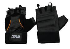 73MILES Leather Weight Training Fitness Sport Bodybuilding Gloves Fingerless G16