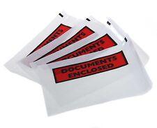 DOCUMENTS ENCLOSED WALLETS~Envelopes~Printed & Plain~A7~A6~A5~100~200~500~1000